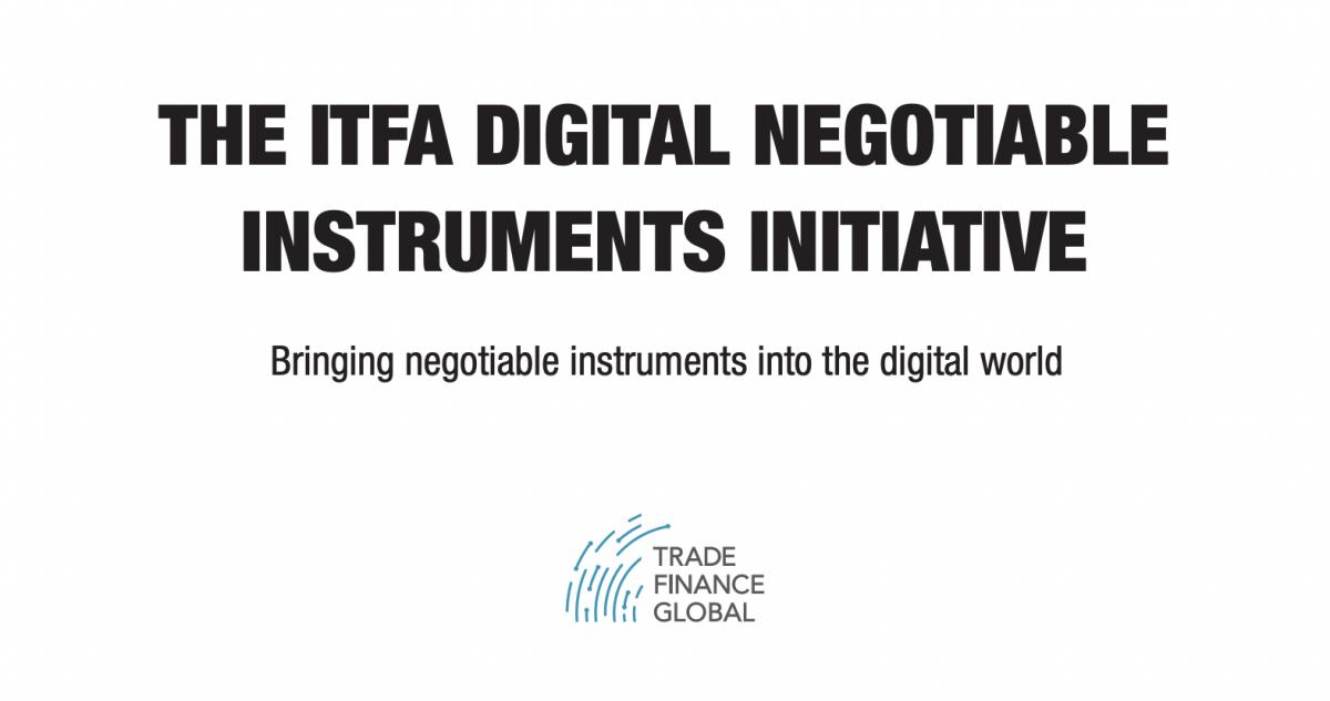 The ITFA Digital Negotiable Instruments Initiative Manual – 2nd Edition